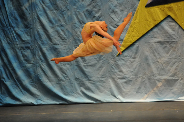 Kristilee Maiella, dancer, jumping high off floor612